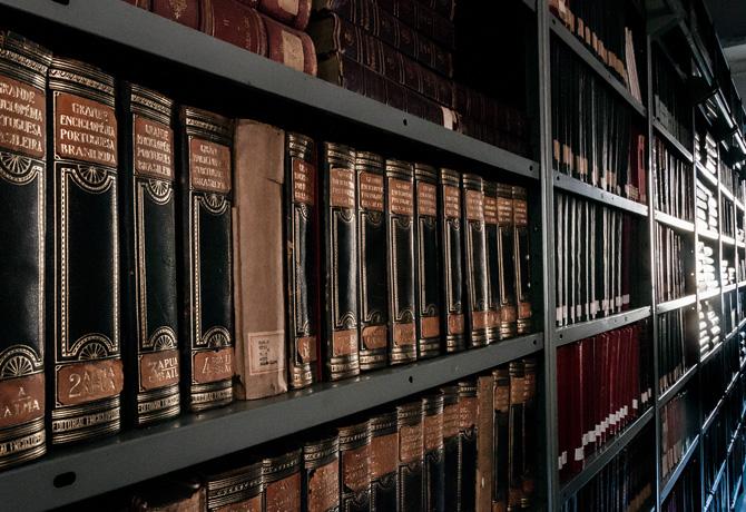 Biblioteca do CCLA, com grandes nomes da literatura, é fonte permanente de consulta por estudantes e pesquisadores