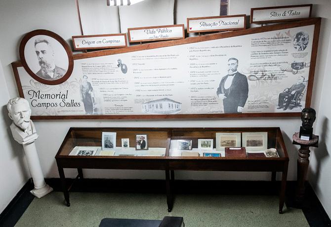 Museu Campos Salles conserva documentos e objetos importantes ligados ao ex-presidente da República
