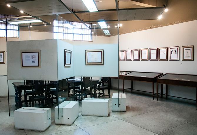 Galeria de Arte do CCLA, sempre com exposições mensais